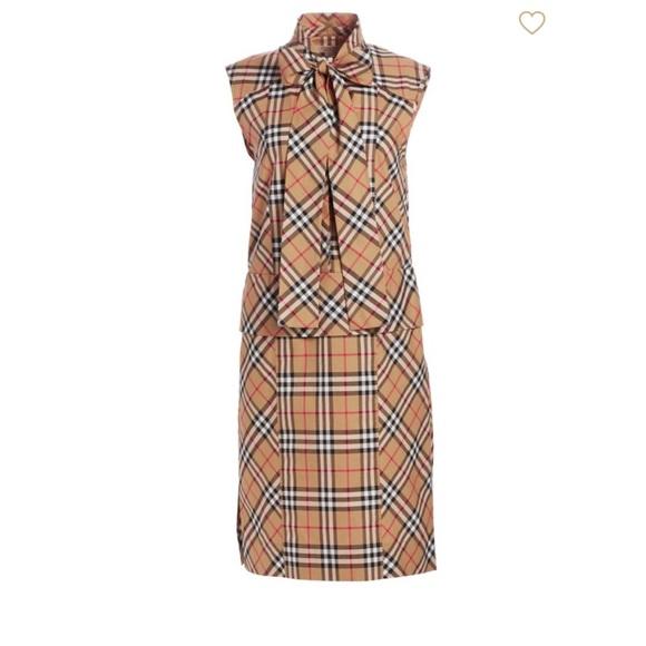Burberry Dresses & Skirts - ⛔️SOLD⛔️NWT Burberry cotton dress size 6